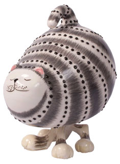 Robby Cat grey large, 17,0cm