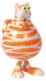 Ferdi Cat orange small, 12,0cm