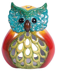 Storm light Owl Hedwig, 16cm